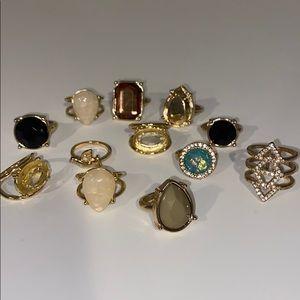 Jewelry - Ring bundle (size 7-8)